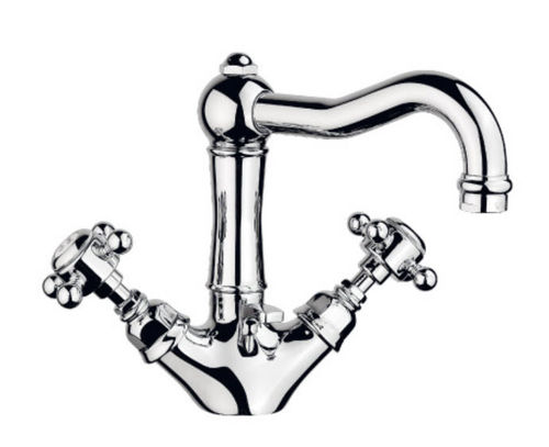 1 hole washbasin double handle mixer tap 1432**70 NICOLAZZI