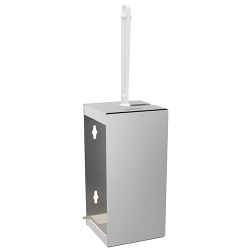 metal toilet brush holder / wall-mounted