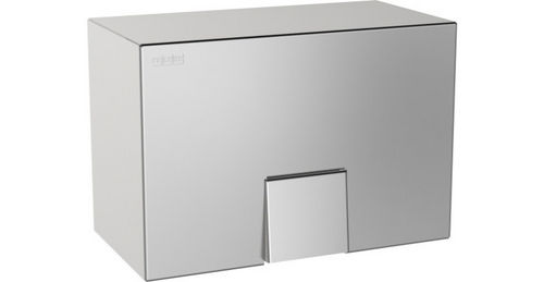automatic hand dryer / wall-mounted / stainless steel