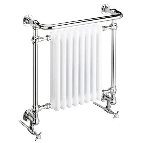 vertical heated towel rail