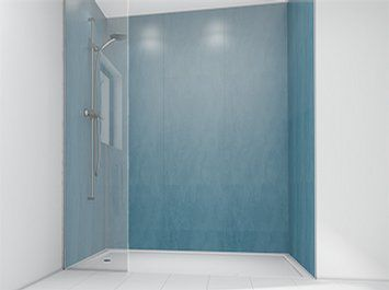 laminate panel bathroom smooth china blue mermaid panels limited
