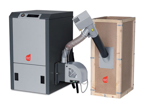 pellet boiler / residential / with pellet storage
