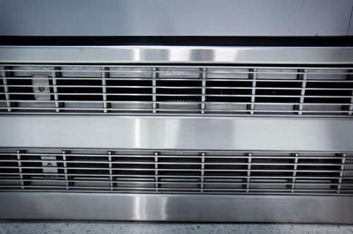 aluminum ventilation grill / linear