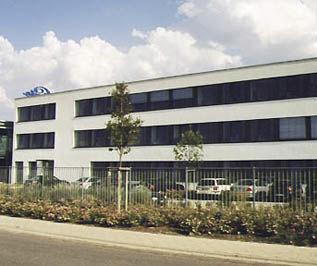 prefab building / concrete / for industrial use / storage