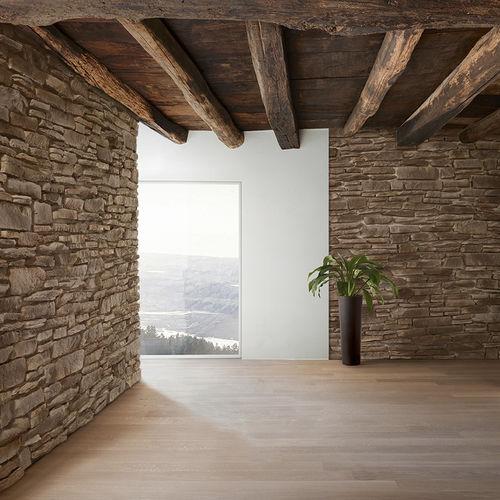 concrete wall cladding panel / interior / exterior / decorative