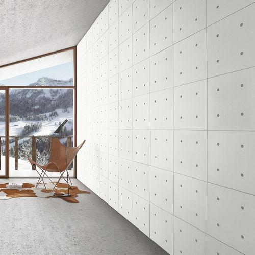 concrete wall cladding / outdoor / indoor / stone look