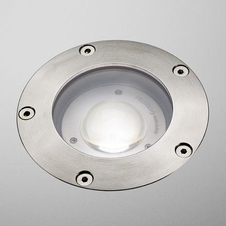 Recessed Floor Light Fixture / LED / Round / Outdoor. O SPOT 10 PURALUCE