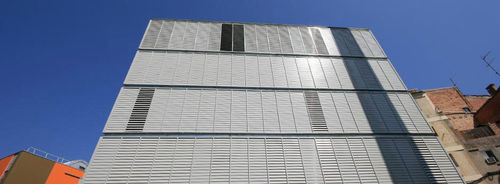 Sliding and stacking shutters / aluminum / window / louvered Tamiluz
