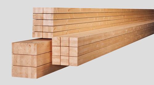 Picea abies beam / glue-laminated wood / rectangular HUTTEMANN WISMAR GMBH&CO.KG