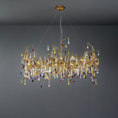 traditional chandelier - Serip Organic Lighting