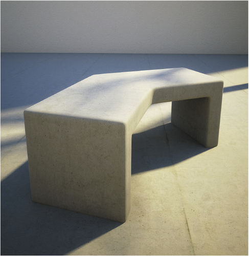 Public bench / contemporary / concrete MOLD : 560 by Em Branco SIT URBAN DESIGN