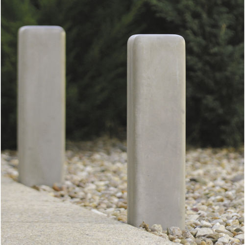 Security bollard / concrete / luminous SOFTSHAPES : 525 by Bleach Design SIT URBAN DESIGN