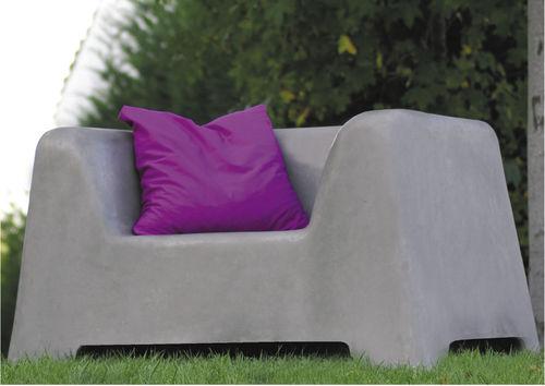 Contemporary armchair / concrete / for public areas / garden STREET SOFA : 550 by Bleach Design SIT URBAN DESIGN
