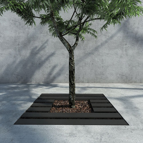 Metal tree grate / square WADE : 625 by Fábio Sousa SIT URBAN DESIGN