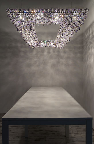 Contemporary chandelier / crystal / handmade KOI Manooi