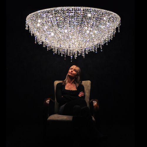 Contemporary chandelier / crystal / handmade ICEBERG Manooi