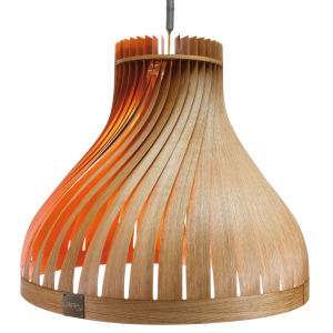 Pendant lamp / contemporary / wooden / handmade VOLUPTE LairiaL