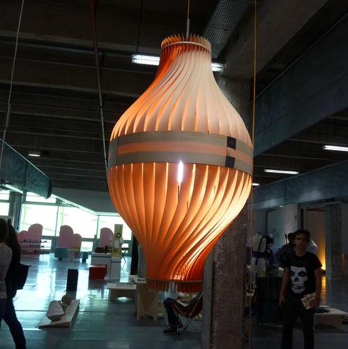 Hanging lamp / original design / wooden / handmade BULM 130 LairiaL