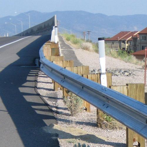 Steel guardrail / street FLEAT 350 Armtec