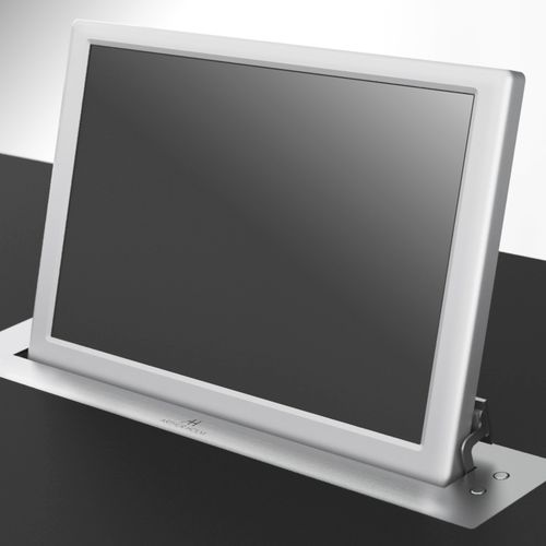 Conference table touch screen / wall-mounted / retractable DYNAMIC2 Arthur Holm