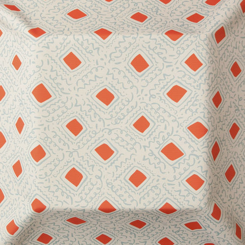 upholstery fabric / for curtains / geometric pattern / acrylic