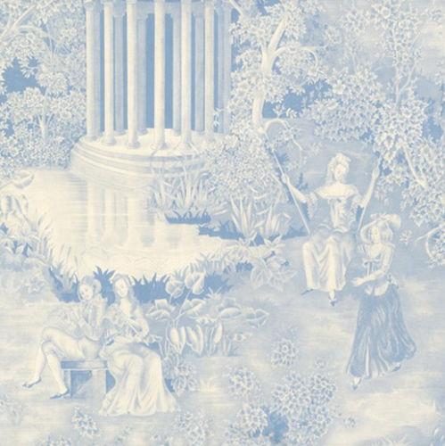 Classical style wallpaper / cellulose fiber / scenic / washable ANDANTINO by Cres Muñoz Equipo DRT