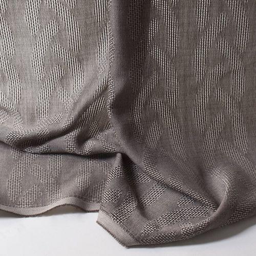 Curtain fabric / patterned / Trevira CS® / transparent CEIBA Equipo DRT