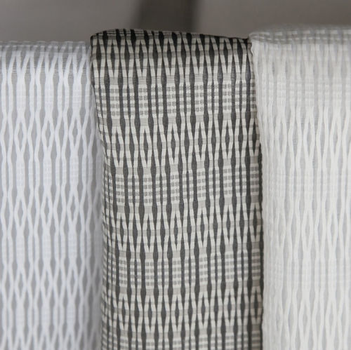 patterned sheer curtain fabric / Trevira CS® / fire-rated