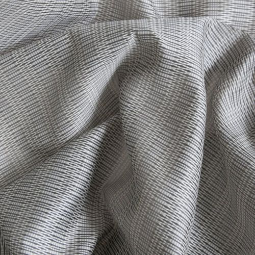 Patterned sheer curtain fabric / Trevira CS® / fire-rated OMEGA : BRUMA       Equipo DRT