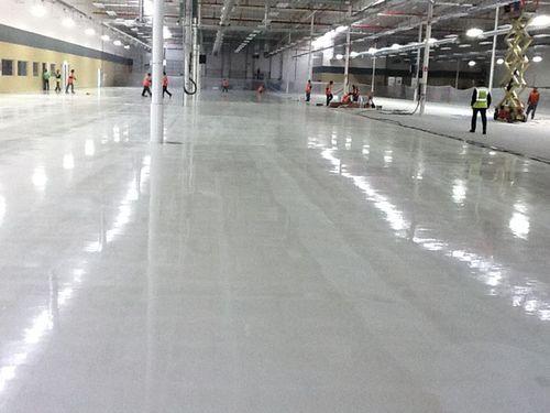 insulating coating / smoothing / floor / epoxy
