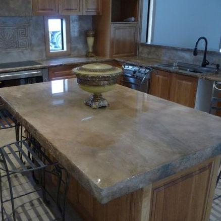 Kitchen Counters 2 Custom Decorating Design
