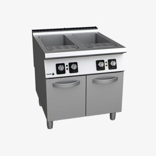electric cooker / gas / for pasta / commercial