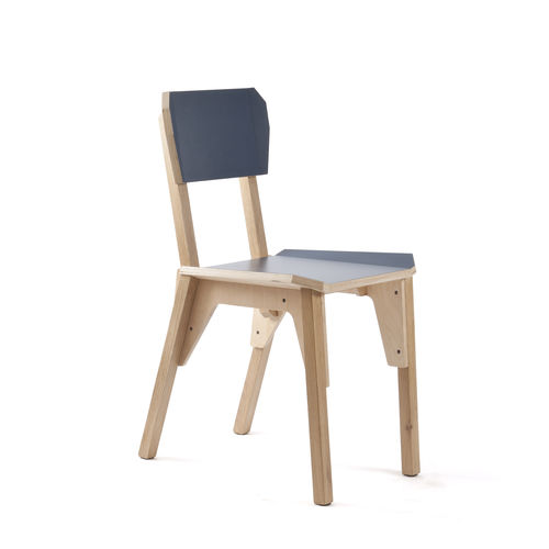 contemporary restaurant chair - VIJ5