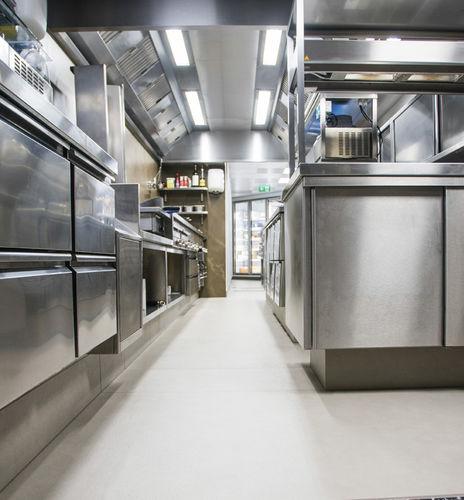 indoor tile / floor / composite / stone look