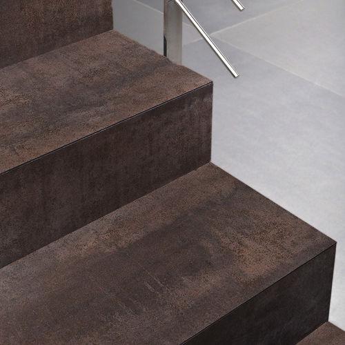 composite flooring / residential / tile / satin
