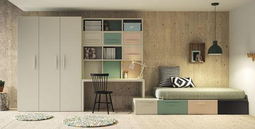 wooden children's bedroom furniture set / unisex