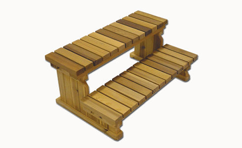 Wooden Step / For Hot Tubs