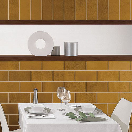 indoor tile / wall / porcelain stoneware / polished