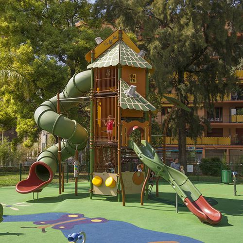 Plastic play structure / steel / HPL / for playgrounds BIG XL TOWER 1 : JGT-0001 HUSSON INTERNATIONAL