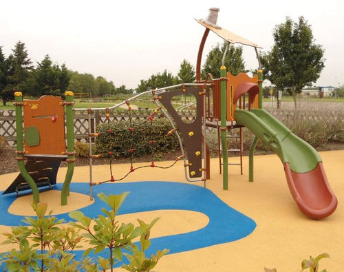 Plastic play structure / steel / HPL / for playgrounds PICCOLO 2 FORESTIC : JPX-0011 HUSSON INTERNATIONAL