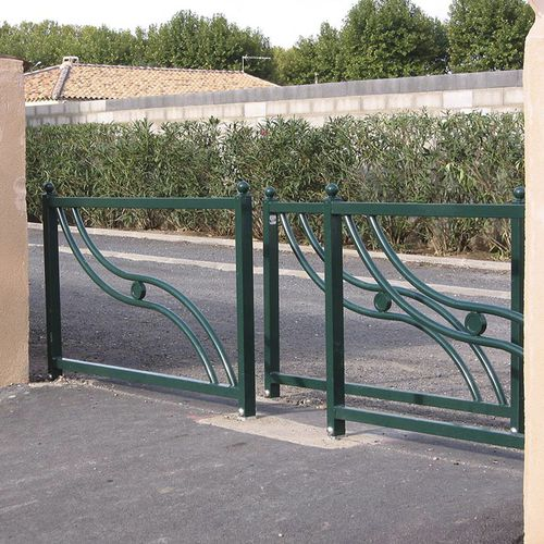 protective barrier / fixed / cast iron / for public spaces