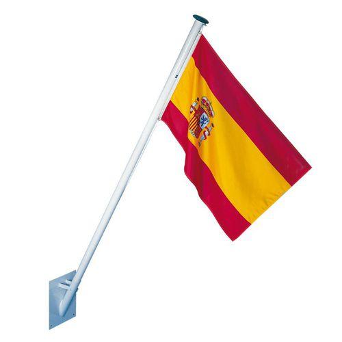 flag pole / steel