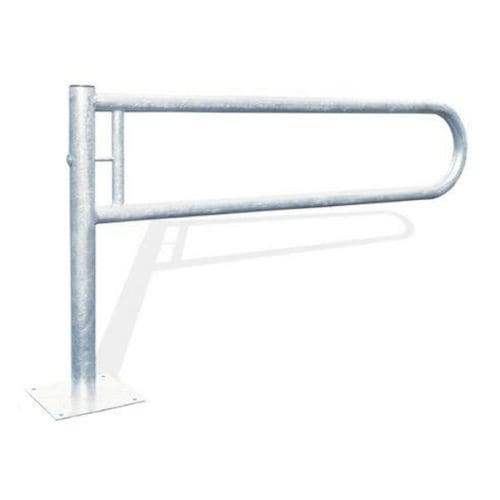 access control barrier / pivoting / metal / for public spaces