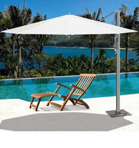 offset patio umbrella / aluminum