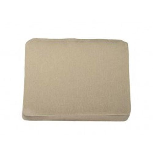 chair cushion / exterior / rectangular / plain