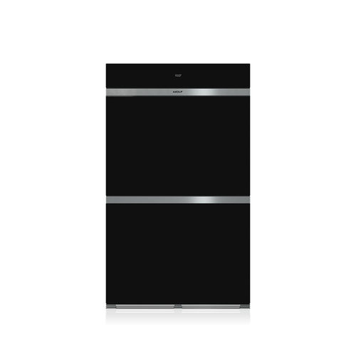 electric oven / convection / double / built-in