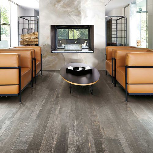indoor tile / floor / porcelain stoneware / rectangular
