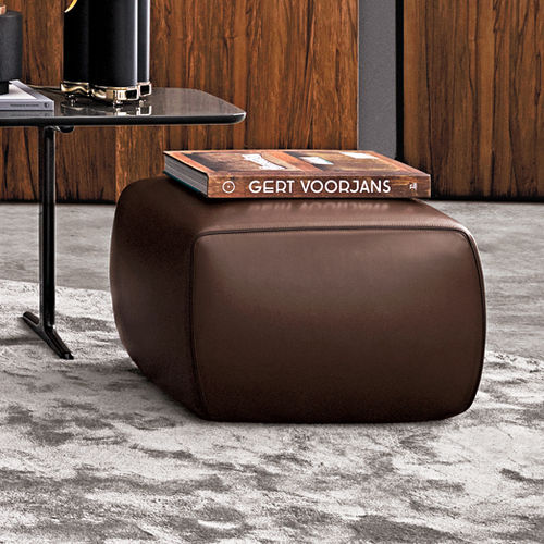 contemporary pouf / fabric / by Rodolfo Dordoni / white
