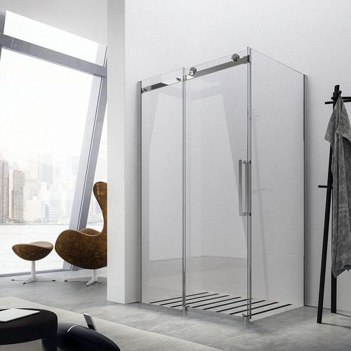 Sliding shower screen / corner MIDA: GW+GP GLASS 1989