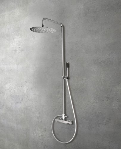 thermostatic shower column - GLASS 1989